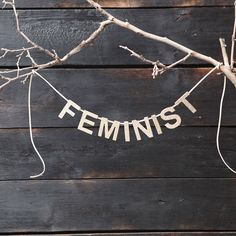 Feminist Custom Glitter Banner | City of Industry