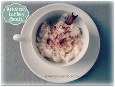 Receta fácil para hacer un delicioso arroz con leche y canela #recipes #recetas #easyrecipes