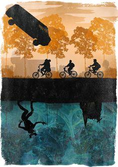Výsledek obrázku pro stranger things poster