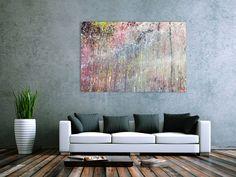 Abstraktes Acrylbild bunt modern schönes Gemälde 100x150cm von xxl-art.de