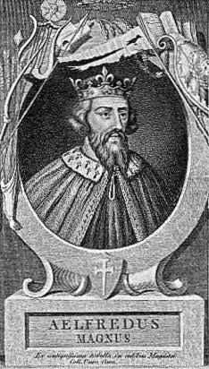 Alfredo il Grande, in inglese antico: Ælfred (Wantage, 849 – 26 ottobre 899), fu re del regno anglosassone meridionale del Wessex dall'871 all'899, ed è venerato come santo dalla Chiesa cattolica.