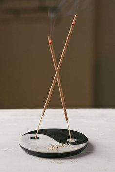Yin-Yang Incense Holder