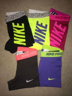 "Nike Pro Core Combat 3"" Compression Shorts Spandex (1-Pair) Yoga Running Tights"