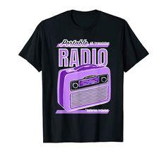 Vintage Transistor Radio T-Shirt vintage ad cubiz design Transistor Radio, Vintage Ads, Shirt Designs, Mens Tops, T Shirt, Supreme T Shirt, Tee, T Shirts, Vintage Advertisements