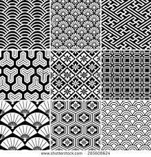 「日本 着物 柄」の画像検索結果 Japanese traditional geomteric pattern