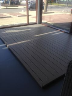 Nomawood terras in de kleur Steppe #decking