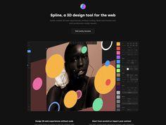 Spline - spline.design 3d Design, Tool Design, Geometric Shapes, Website, Dimensional Shapes