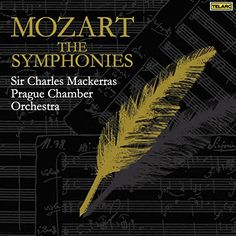 Wolfgang Amadeus Mozart & Charles Mackerras & Prague Chamber Orchestra & & 0 more - Mozart: The Symphonies Symphony No 9, B Flat Major, Music Store, Cd Cover, Conductors, Classical Music, Prague, Orchestra, Family History