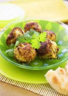 Oignons Bhaji (galettes d'oignons, Inde)