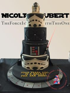Star Wars Cake  - Cake by Sugar Linings