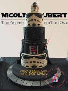 Star Wars Cake  - Cake by Sugar Linings