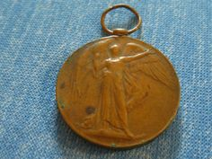 """Antique Coin WWI """"THE GREAT WAR FOR CIVILIZATION 1914-1919"""" MEDAL COIN MEDALION"""