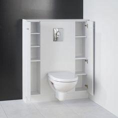 Meuble De Toilette Suspendu #2 - CPS Sélection Meuble Standard Pour WC Suspendu, BA¢ti-support De