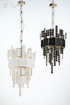 LUCE da VIVERE Crystalline Lampe Pendelleuchte Licht Gold Klein erhältlich bei Ihrem DGLights Designer Lampen Versand und Internet Einzelhandel