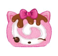 Straw-Kitty is a Num from Series She is found in the Jelly Rolls Starter Pack. Shopkins Drawings, Num Noms Toys, Candy Clipart, Cookie Swirl C, Doodle Characters, Diy Barbie Clothes, Cute Fantasy Creatures, My Little Pony Drawing, Jelly Rolls