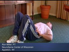 See how to perform exercises to relieve sciatica from degenerative disc disease. Beginning and advanced techniques are demonstrated.