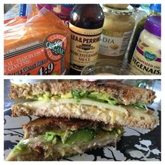 The green Reuben ,  the Dolce Diet living lean.