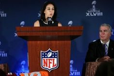 NFL Commissioner Roger Goodell just announced the Rooney Rule for Women, a policy designed to address the gender inequality issues around the league. Gender Inequality, Nfl, Football, Women, Soccer, Futbol, American Football, Nfl Football, Soccer Ball