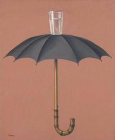 artimportant:  Rene Magritte - Les Vacances de Hegel, 1958