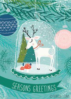 Christmas – Snowglobe   Rebecca Jones