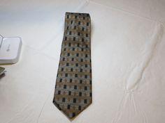 Baci Made in Italy multi Print menswear neck tie silk necktie Men's GUC #Baci #tie