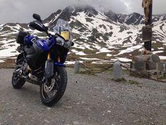 Yamaha Super Tenere - Passo Gavia, Italy