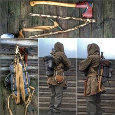 From Bowdrillaz: Easy way to get a frame for your important bushcraft items
