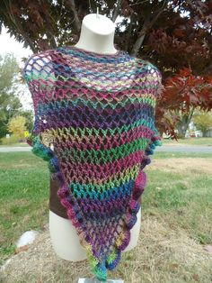 #Crochet Easy Ladies Shawl Wrap #TUTORIAL