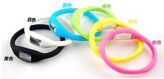 Wellbeing Silicon Ergonomical Digital Watch Light Blue i154596