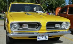 1967 Plymouth Barracuda.  Photography by David E. Nelson, 2016