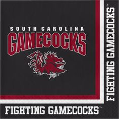 Univ of South Carolina 2 Ply Lunch Napkins/Case of 240 Tags: University of South Carolina; Lunch Napkins; Collegiate; University of South Carolina Lunch Napkins;University of South Carolina party tableware; https://www.ktsupply.com/products/32786326075/Univ-of-South-Carolina-2-Ply-Lunch-NapkinsCase-of-240.html