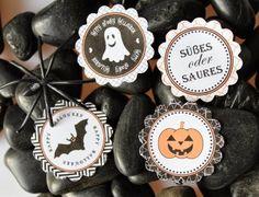 Halloween, Cupcake Topper, Freebies, Free Printable Halloween Cupcakes, Halloween Decorations, Freebies, Halloween 2013, Free Printables, Free Printable, Halloween Art