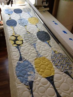 Madrona Road Table Runner (Quick Curve Ruler project) | Flickr - Photo Sharing!