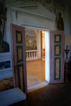 Andrea Palladio (nato Andrea di Pietro della Gondola) (Italiano, 1508 Padova – 1580 Maser) | Villa Barbaro | Via Cornuda, 7, 31010 Maser Treviso, Italy | Frescoes by Paolo Veronese (Italian, 1528-1588) | 1560-1570