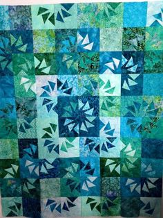 Ripples, Quiltworx.com, Made by Beth Liotta