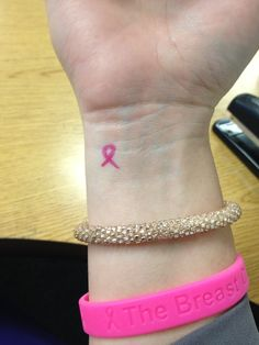 One of the most requested 'charity tattoos' is the pink ribbon tattoo, a symbol that promotes attention to breast cancer. Description from tattooforaweek.com. I searched for this on bing.com/images