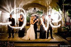 Wunderkerzen zur Hochzeit - Bilderideen Album
