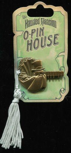 DLR Haunted Mansion O'Pin House Keys Organist Disney Pin 70092