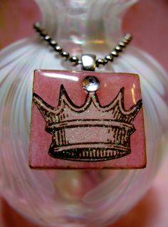Debbie's sparkly pendants with Dimensional Magic.