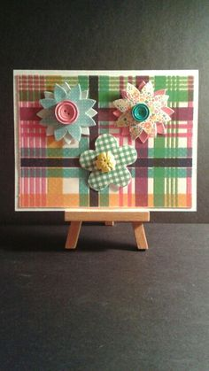 Flower Birthday Card www.etsy.com/shop/jengirlsdesigns #etsy #jengirlsdesigns #handmade #card #handmadecard #birthday #birthdaycard #etsyshop #etsystore #etsyseller #etsysellers #etsyusa #etsyfinds #greetingcards #birthdaywishes #happybirthday #papercrafts #cardmaking #papercrafting #makeawish #forher