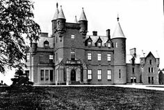 Castle Buchanan Stirlingshire, Scotland.  This photo is from the 1890's