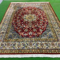 Catawiki Online-Auktionshaus: Isfahan, India, 350 x 248 cm Bohemian Rug, India, Rugs, Home Decor, Persian Carpet, Farmhouse Rugs, Goa India, Decoration Home, Room Decor