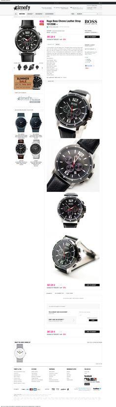 Web Design Inspiration - www.timefy.com/en/fashion-watches/854-hugo-boss-chrono-leather-strap-1512598.html