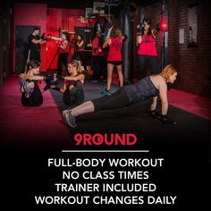 9ROUND: A different kind of workout.
