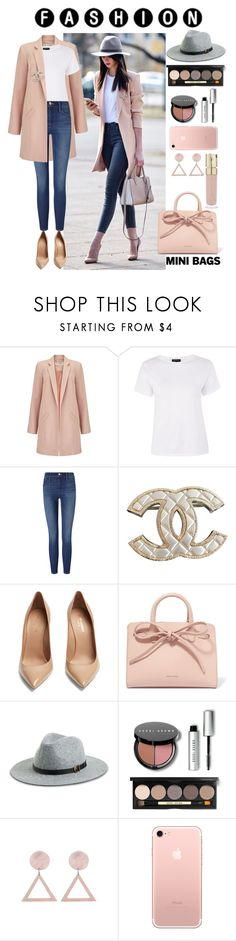 """Untitled #203"" by leajavorova ❤ liked on Polyvore featuring Miss Selfridge, Topshop, Frame, Chanel, Yves Saint Laurent, Mansur Gavriel, Venus, Bobbi Brown Cosmetics and Smith & Cult"