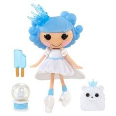 Lalaloopsy Mini Ivory Ice Crystals Holiday Doll for just $5.99!