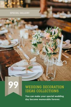 Dress up your wedding decorations by having one of these spectacular stunning wedding decor ideas album great and affordable wedding decoration idea are available for you junglespirit Gallery