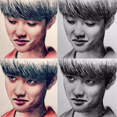 D.O fanart from 'hello monster'
