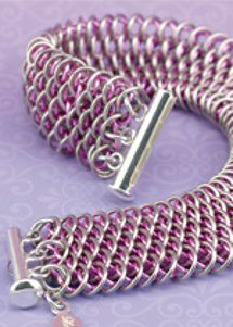 Chain Maille Jewelry Patterns....was planning on adding chain maille jewelry to my business soon, these might help give me inspiration and get going with it.