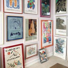 ᴾᵁᴸᴸᴵᴺᴳ ᴰᴼᵂᴺ ˢᵀᴬᴿˢ ᴶᵁˢᵀ ᵀᴼ ᴹᴬᴷᴱ … - Dekoration Verden Kandinsky, House Wall, Home Decor Inspiration, Decoration, Lovers Art, Interior And Exterior, Gallery Wall, Sweet Home, Room Decor